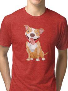 The cute dog Tri-blend T-Shirt