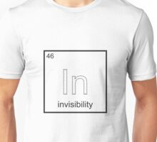 The Element of Invisibility Unisex T-Shirt