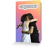 Larry's my otp Greeting Card