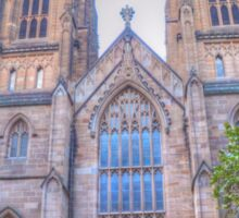 St Andrews Cathedral .. George St View Sticker
