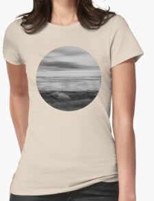 Touching the sky Womens Fitted T-Shirt