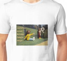 p behind the bush Unisex T-Shirt