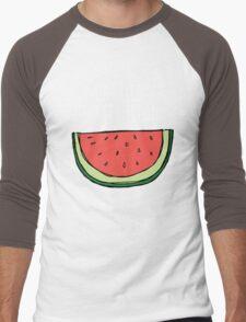 I carried a watermelon Men's Baseball ¾ T-Shirt