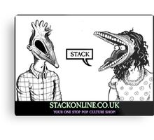 STACK Beetlejuice Logo Metal Print