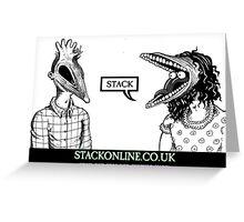 STACK Beetlejuice Logo Greeting Card