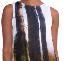 Tree trunks Contrast Tank