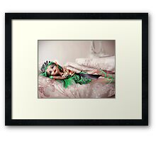 Beautiful Egyptian Doll  Framed Print