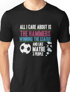 West Ham  - Dedicated Hammer Fan Unisex T-Shirt
