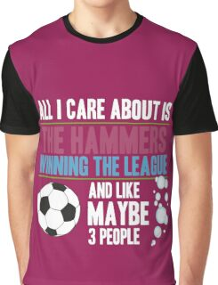 West Ham  - Dedicated Hammer Fan Graphic T-Shirt