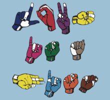 Love is a Fist by OzzieBennett