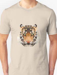 Mosiac Tiger Unisex T-Shirt