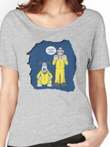 BREAKING BAD & WALLACE AND GROMIT MASHUP Women's Relaxed Fit T-Shirt