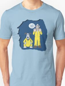 BREAKING BAD & WALLACE AND GROMIT MASHUP Unisex T-Shirt