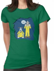 BREAKING BAD & WALLACE AND GROMIT MASHUP Womens Fitted T-Shirt