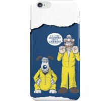 BREAKING BAD & WALLACE AND GROMIT MASHUP iPhone Case/Skin