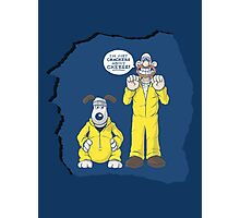 BREAKING BAD & WALLACE AND GROMIT MASHUP Photographic Print