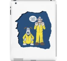 BREAKING BAD & WALLACE AND GROMIT MASHUP iPad Case/Skin