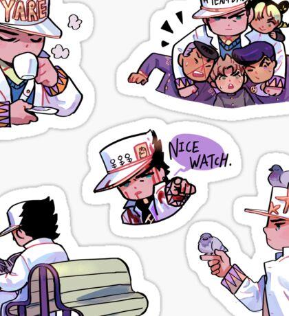 Part 4 Jotaro Kujo chibi Sticker