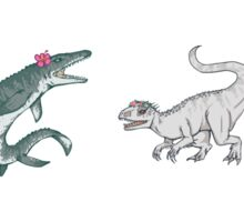 Jurassic Girls - All 4 Sticker