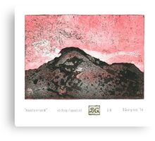 Mountain Run Canvas Print
