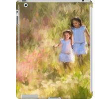 Delightful, innocecent childhood iPad Case/Skin