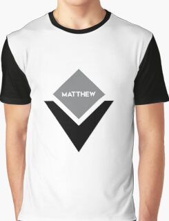 american first name male: Matthew Graphic T-Shirt