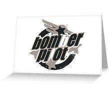 Bomber Pilot Greeting Card
