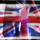 UNION JACK BRITISH FLAG  by scarletjames