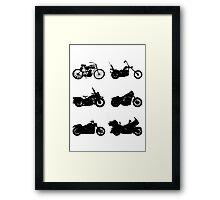 History of Harley Davidson Framed Print