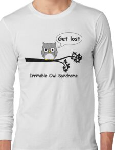 Irritable Owl syndrome Long Sleeve T-Shirt