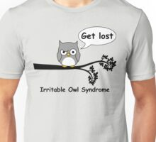 Irritable Owl syndrome Unisex T-Shirt