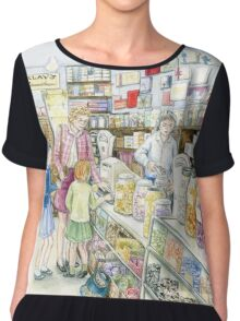 Lolly shop Candy Store Chiffon Top