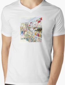 Lolly shop Candy Store Sweet shop Mens V-Neck T-Shirt