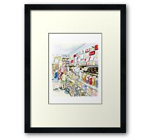 Lolly shop Candy Store Sweet shop Framed Print