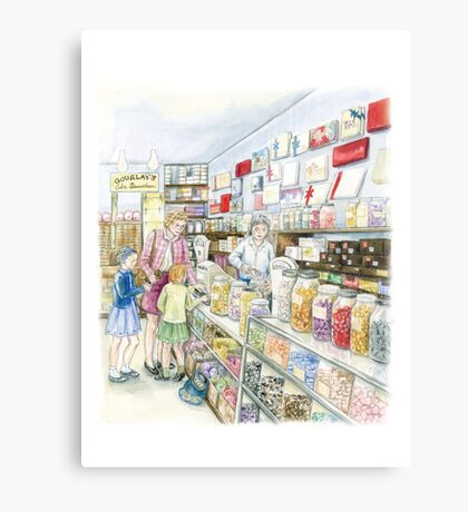 Lolly shop Candy Store Sweet shop Metal Print