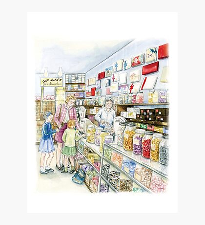 Lolly shop Candy Store Sweet shop Photographic Print