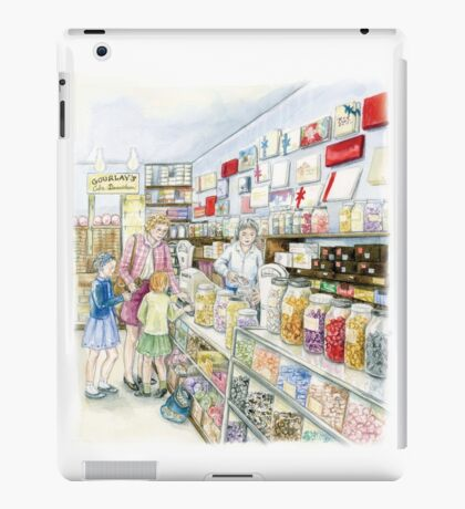 Lolly shop Candy Store Sweet shop iPad Case/Skin