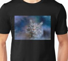 Green Eyes - Cat art by Michelle Wrighton Unisex T-Shirt