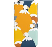 Sound of music sheep iPhone Case/Skin