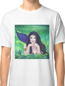 Medea Mermaid fantasy art By Renee Lavoie Classic T-Shirt