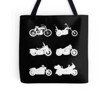 History of Harley Davidson Tote Bag