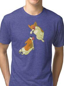 Houndstooth Tri-blend T-Shirt