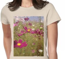 Crawling among the Cosmos Womens Fitted T-Shirt