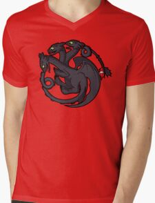 Toothless Targaryen Mens V-Neck T-Shirt
