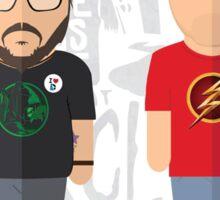 STACK Jim & Jon Artwork Sticker