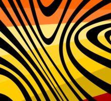 Crazy stripes Sticker