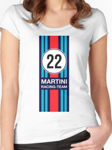 MARTINI RACING TEAM Women's Fitted Scoop T-Shirt