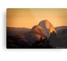 Sunset over Half Dome, Yosemite National Park, California, USA Metal Print
