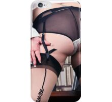 stocking tops iPhone Case/Skin