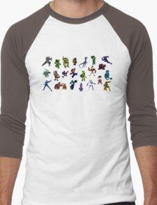 SNES All Stars Men's Baseball ¾ T-Shirt